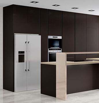 Architektonické vizualizácie kuchýň