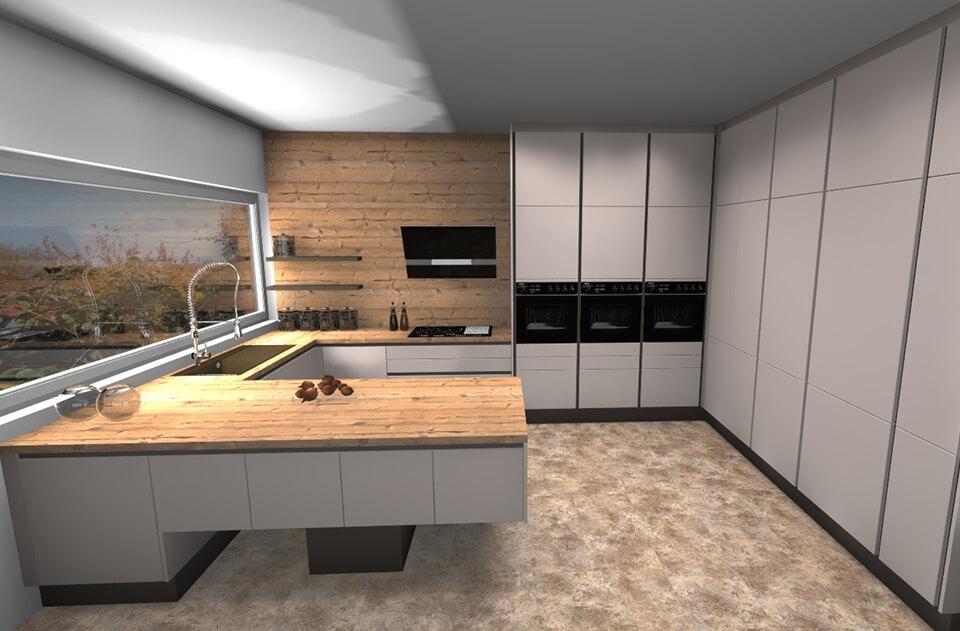 Návrh vizualizácia kuchyne od DAN KUCHEN